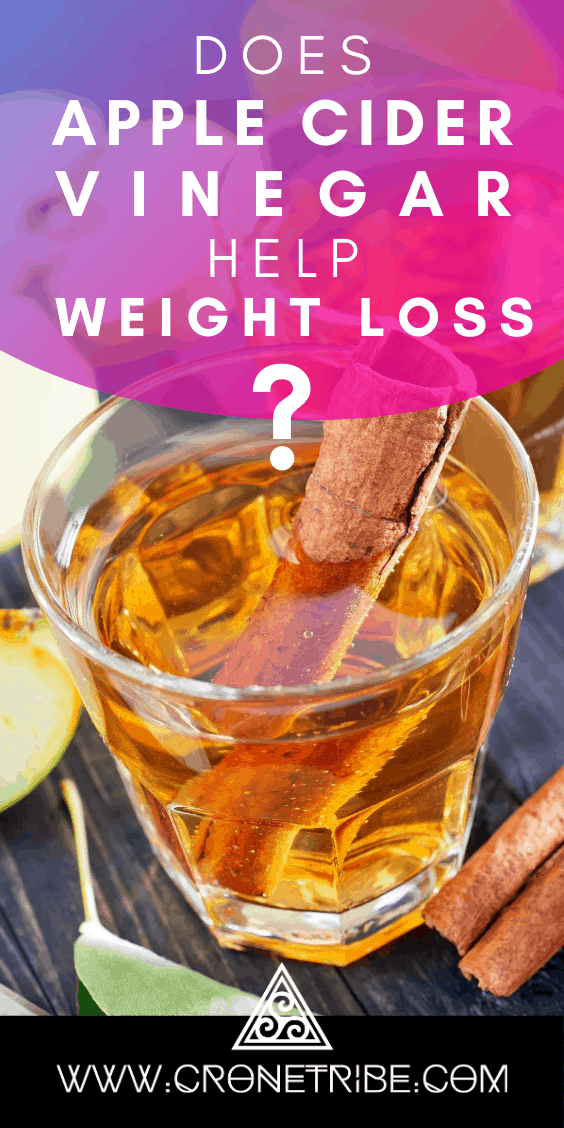 Does apple cider vinegar help weight loss?