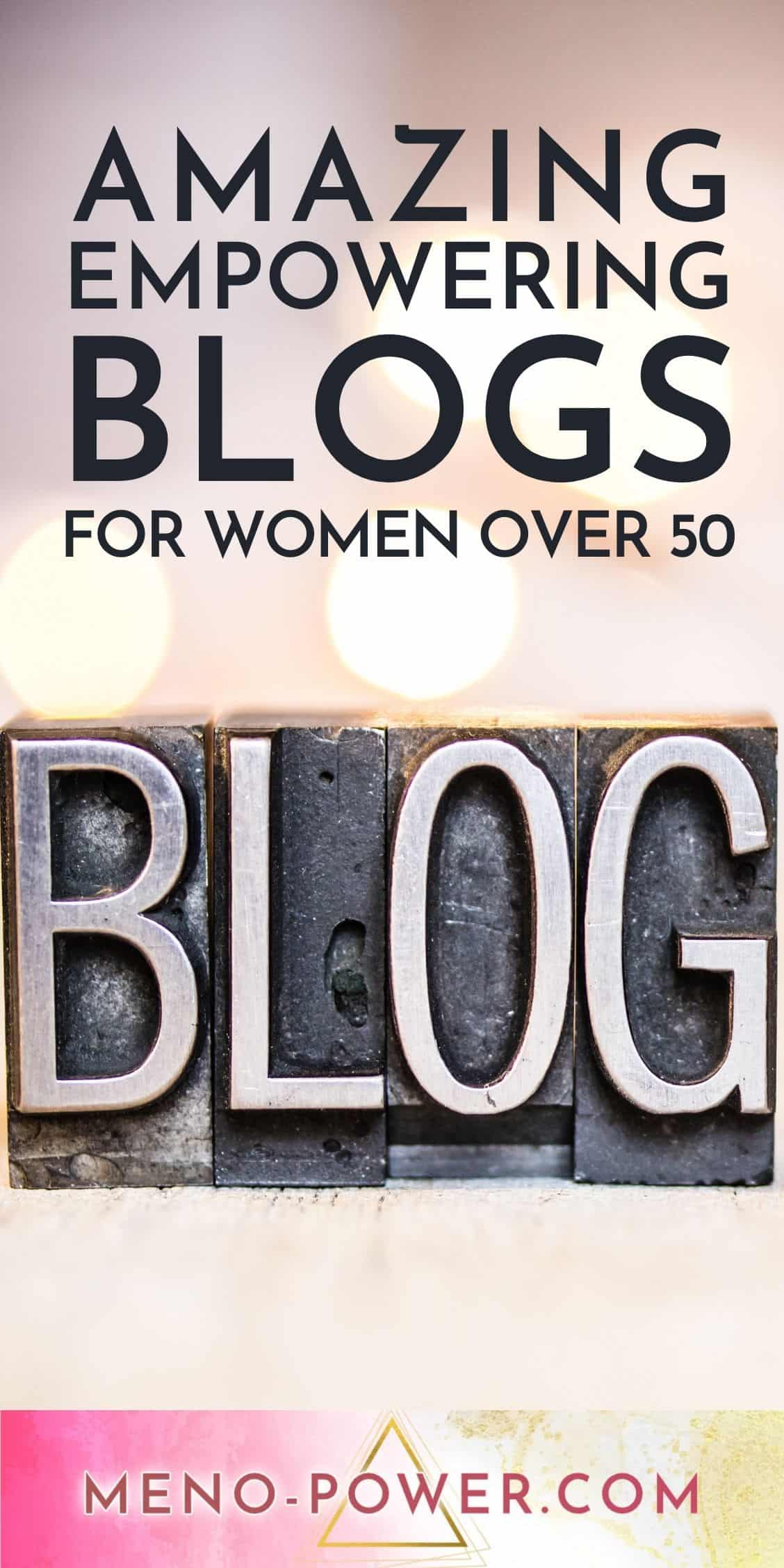 Blogs For Women Over 50