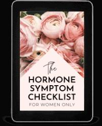 Hormone Symptom Checklist Ebook