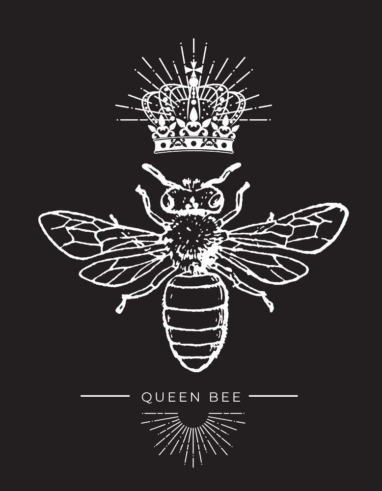 Queen Bee Womans T-shirt Design