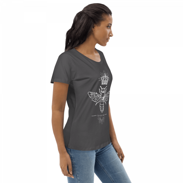 Woman Queen Bee T-shirt Eco Organic